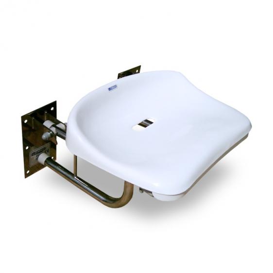 Siodełko prysznicowe ścienne uchylne SPU do 200 kg