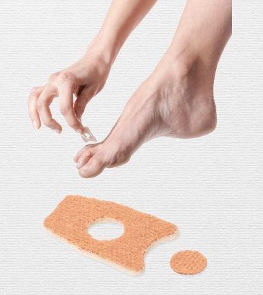 Plastry do usuwania nagniotków między palcami Do.Tobell 13EF