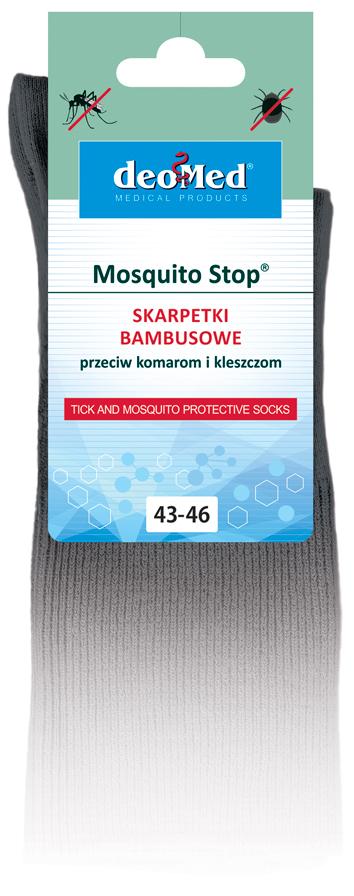 Skarpety przeciw kleszczom i komarom