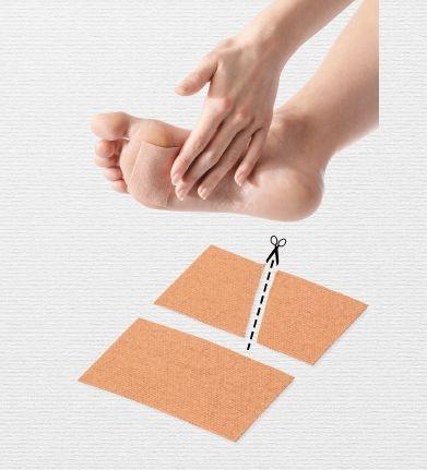 Plastry tkaninowe do usuwania odcisków Do.Tobell 21F