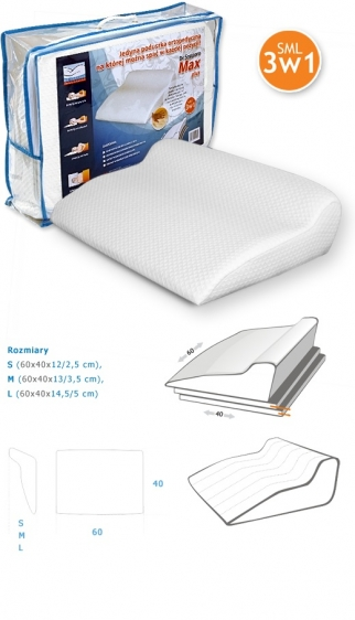 Poduszka ortopedyczna Max Plus Dr Sapporo