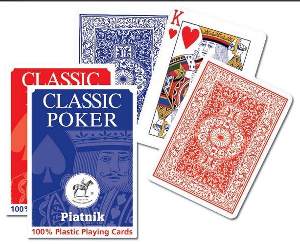 Karty Plastik Poker Piatnik