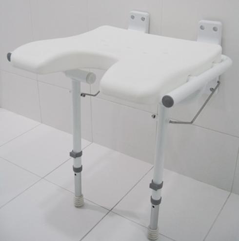 Siedzisko prysznicowe montowane do ściany