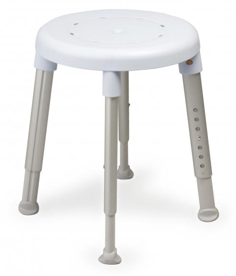 Stołek prysznicowy z okrągłym siedziskiem Easy Etac