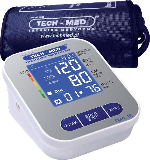 Ciśnieniomierz elektroniczny TMA-10 TechMed