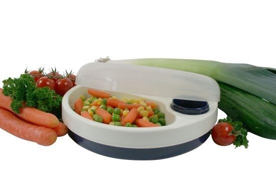 Talerz z pokrywką podtrzymujący ciepło potraw