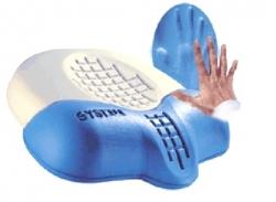 Poduszka pod głowę jednostronna z pianki VISCO C100P