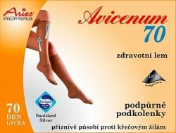 Podkolanówki profilaktyczne Aries Avicenum 70