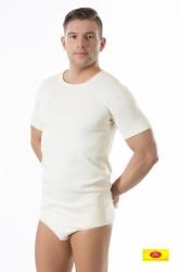Koszulka męska z krótkim rękawem wełniana Pani Teresa