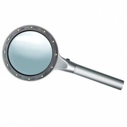 Lupa ze szklaną soczewką Bresser Φ85-2x/4x LED
