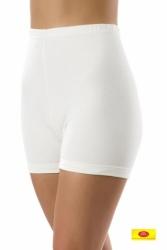 Bursztynowe majtki damskie z nogawkami Pani Teresa