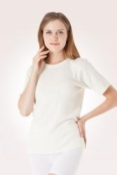 Koszulka rozgrzewająca unisex krótki rękaw CzSalus