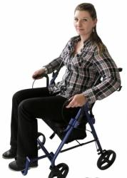 Podpórka czterokołowa i wózek 2w1 SIT&ROLL