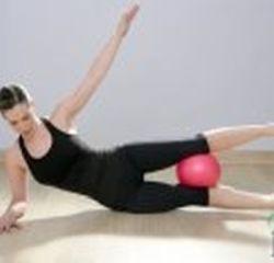 Piłka do pilates  25 cm czerwona