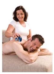 Ręczny masażer do ciała TopCom MM-1000