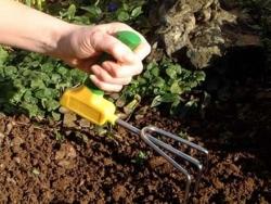 Ręczny kultywator ogrodniczy