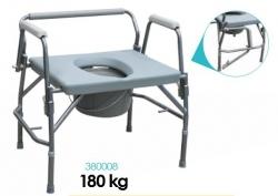 Fotel sanitarny XXL 3 w1