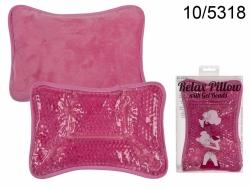 Poduszka relaksacyjna z kuleczkami żelowymi ciepła lub zimna