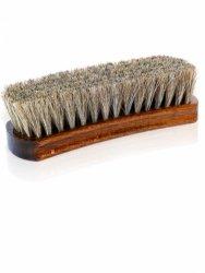 Szczotka z końskiego włosia do polerowania obuwia LUX