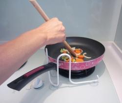Os�ona patelni i rondla podczas gotowania