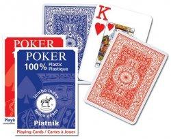 Karty Poker Opti plastik Piatnik