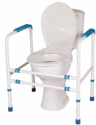Rama na WC z czterema poręczami
