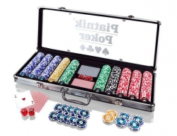 Piatnik Poker Alu Case - 500 żetonów