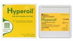 Opatrunek z gazy nasączony wazeliną 10x10 Hyperoil