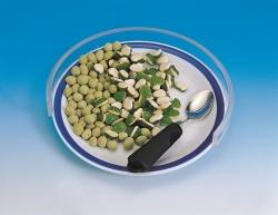 Plastikowa przeźroczysta osłona na talerz 25-28 cm