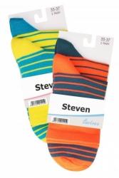 Skarpety zakostki damskie Steven – dwie pary