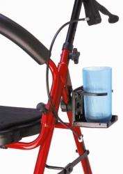 Uchwyt do balkonika, chodzika lub wózka inwalidzkiego