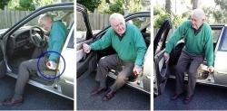 Uchwyt ułatwiający wysiadanie z samochodu HandyBar
