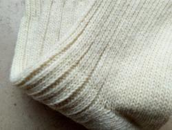 Skarpety rozgrzewające kremowe z wełny owczej Nebat
