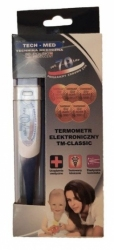 Termometr elektroniczny z elastyczną końcówką TM-CLASSIC TechMed