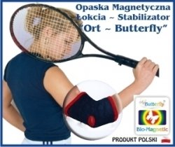 Stabilizator magnetyczny łokcia Butterfly