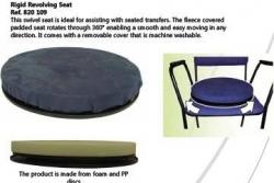 Poduszka obrotowa na sztywnej podstawie