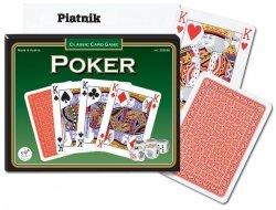 Karty do gry w Pokera Piatnik 2 talie + kości