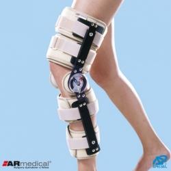 Orteza kolana z zegarami z regulowaną długością Special