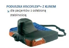 Poduszka VISCOFLEX+ z klinem P361CP Systam