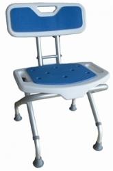 Krzesło prysznicowe składane Blue