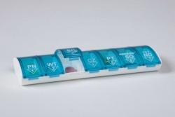 Tygodniowa kasetka na leki Anabox 1x7