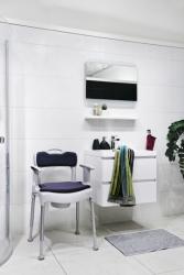 Krzesło toaletowe wielofunkcyjne Swift Commode Etac