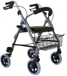 Chodzik czterokołowy aluminiowy TGR-R RA 882
