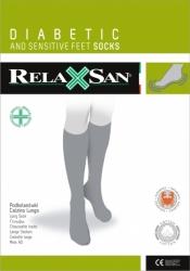 Podkolanówki dla diabetyków z włókien Crabyon RelaxSan