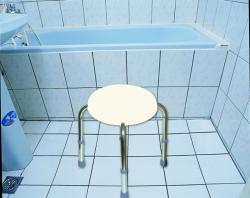 Stołek prysznicowy okrągły