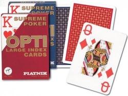 Karty Piatnik Opti poker 1 talia 4 indeksy