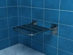 Krzesło prysznicowe uchylne bez podpór PSP501A