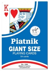 Karty do gry Piatnik – wielki rozmiar
