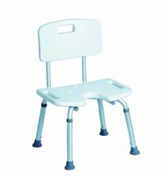 Krzesło prysznicowe z wycięciem CA352L