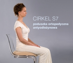 Poduszka ortopedyczna do siedzenia Cirkel S7